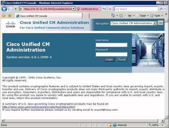 Download Cisco Unified Communications Manager 6 0 1